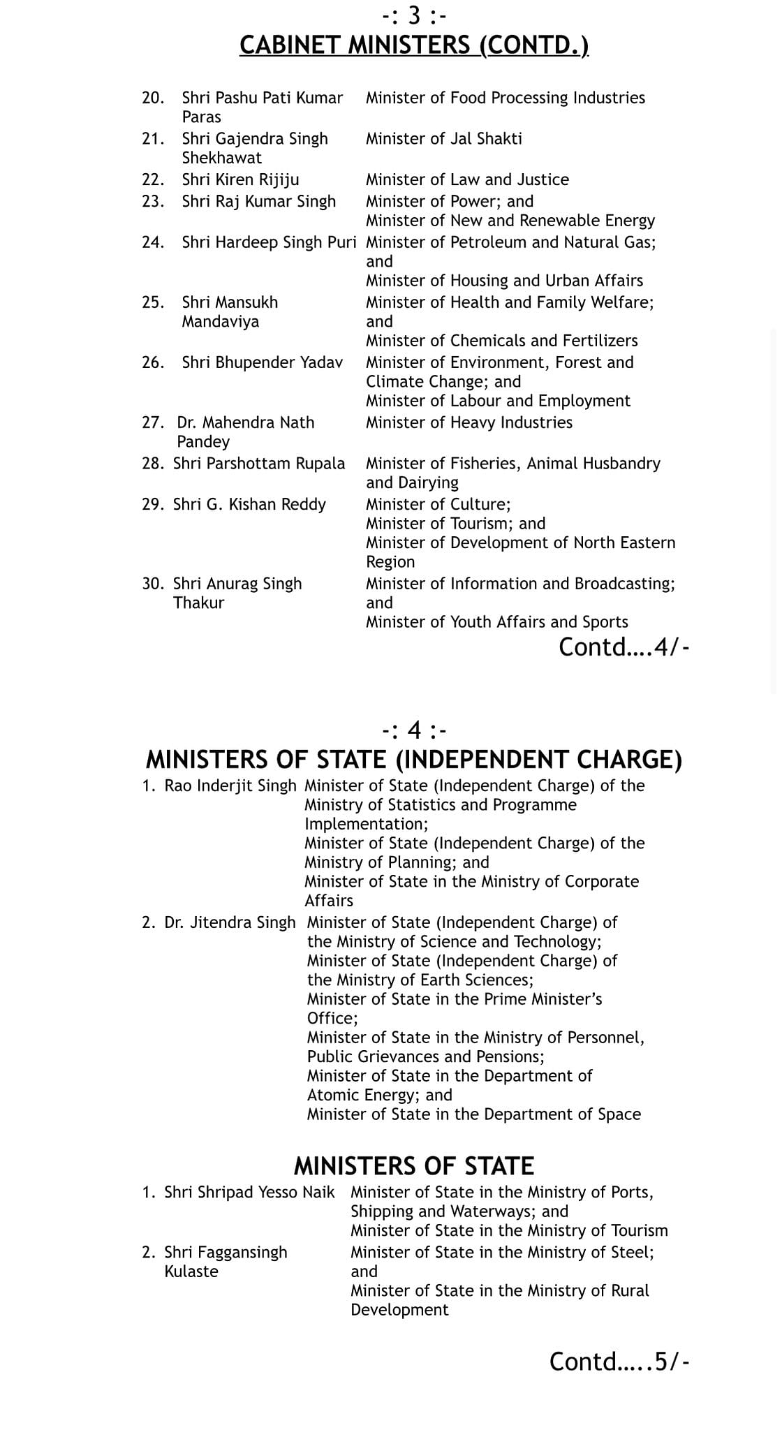 Mansukh Mandaviya is new Health Minister, Amit Shah to also look after newly-created Ministry of Cooperation