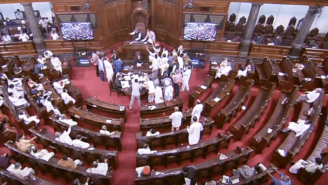 Lok Sabha and Rajya Sabha adjourned for the day after repeated disruptions by protesting Opposition