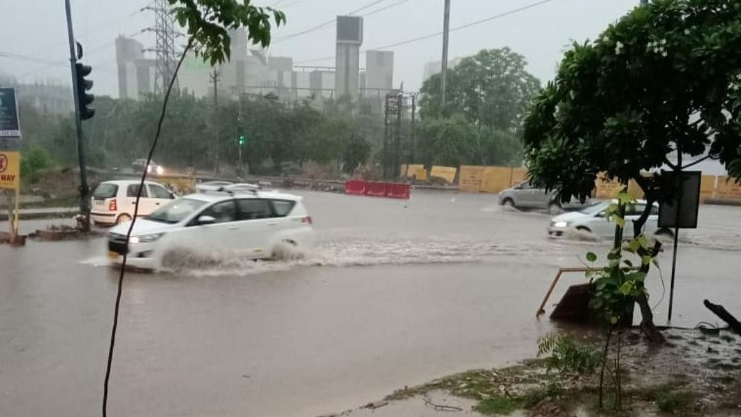 In Photos: Monsoon arrives, waterlogging woes tag along