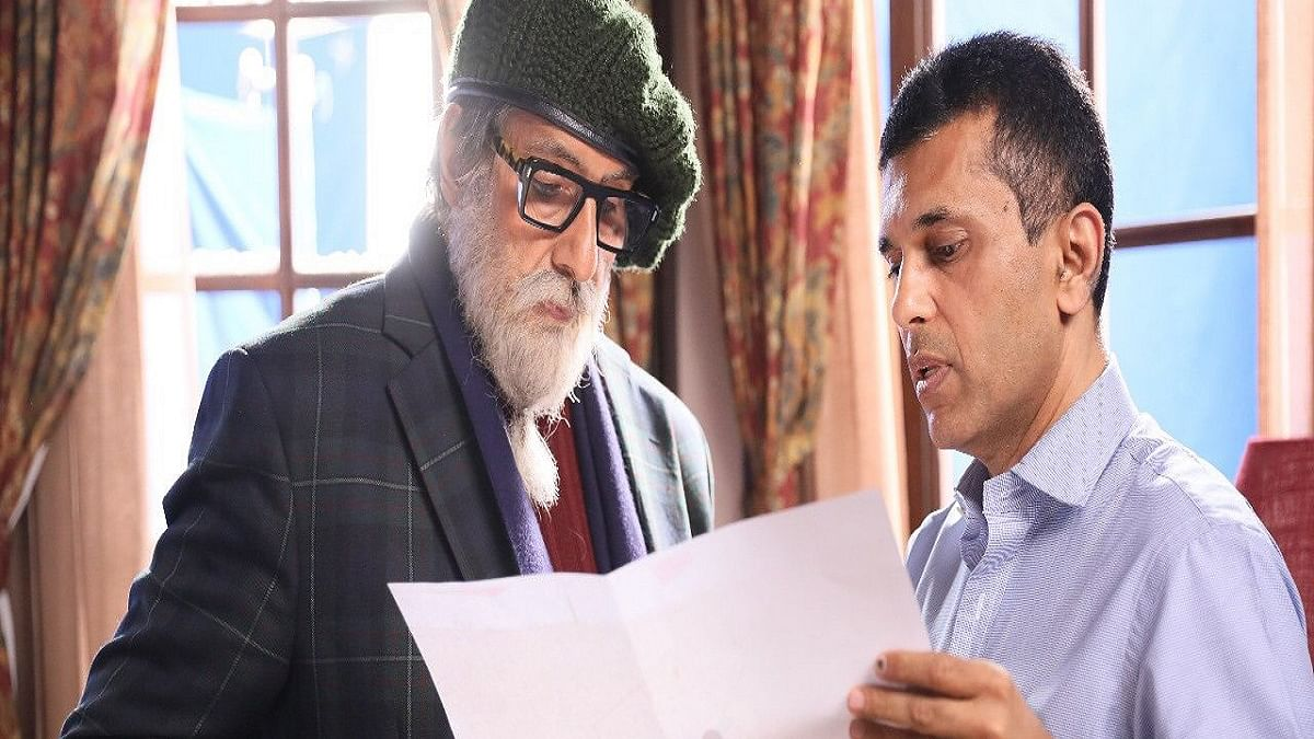 Amitabh Bachchan to shoot a poetic title sequence for Anand Pandit's 'Chehre'