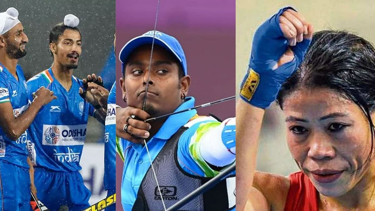 Victors through the day: Men's hockey team, Sindhu in quarters; unlucky Mary Kom bows out