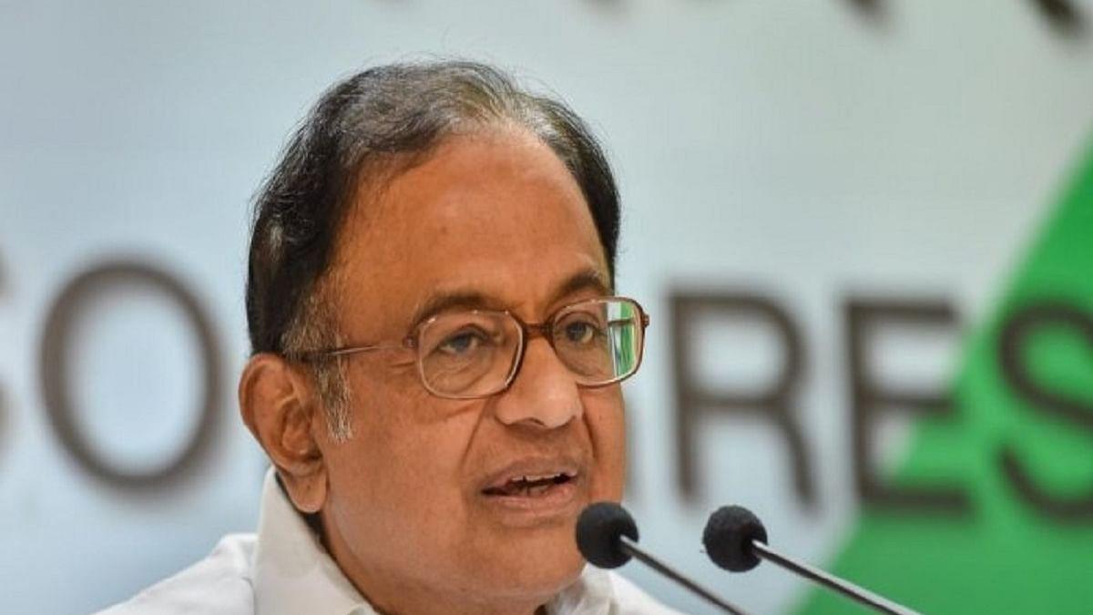 Congress leader P Chidambaram