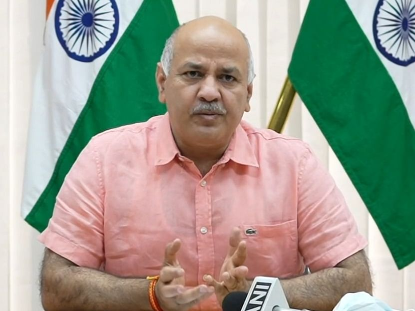Delhi Deputy CM Manish Sisodia