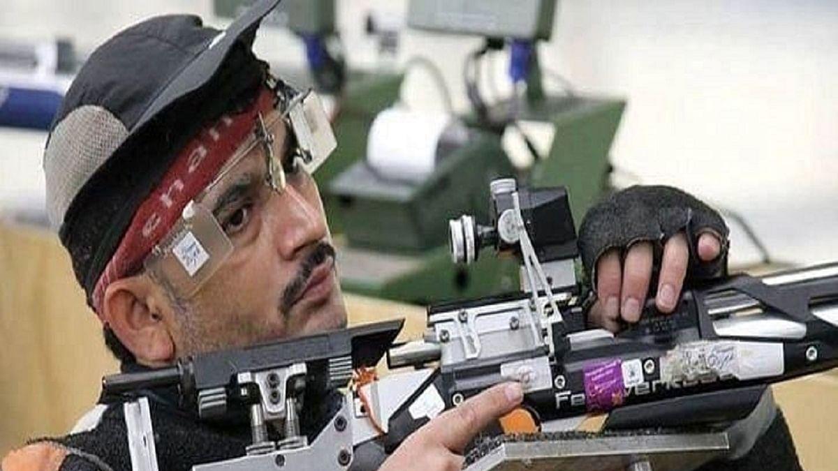 Paralympic shooter Naresh Kumar Sharma (Photo COurtesy: Social Media)