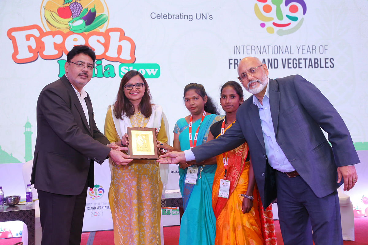 Women's self help group of Chhattisgarh gets lauded at Fresh India Show 2021