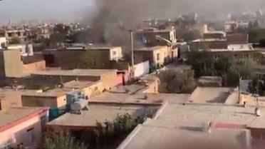 Rocket attack near Kabul airport kills two