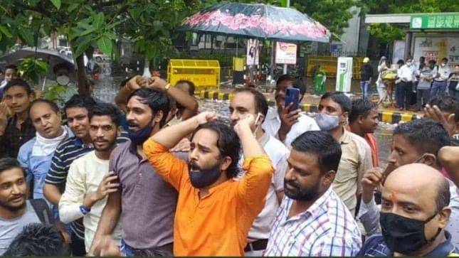Communal sloganeering at Jantar Mantar: Court denies bail to three, says remarks undemocratic