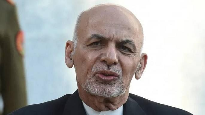 Former Afghanistan President Ashraf Ghani (File photo)