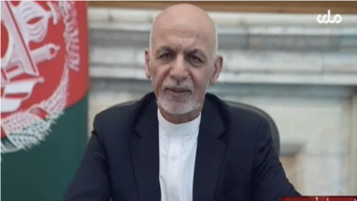 Afghan President Ashraf Ghani releases video, 1st since fleeing Kabul