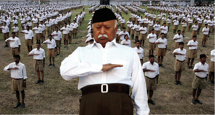 A new political RSS, four years old, takes on the old RSS, the cultural organisation