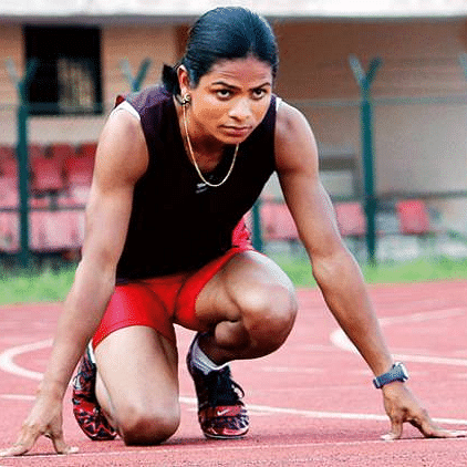 Dutee finishes last in her heat race, fails to qualify for 200m semifinals at Olympics