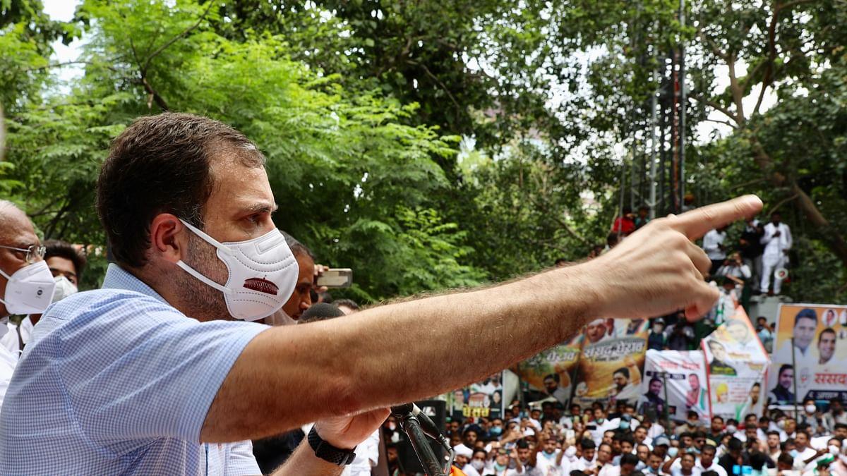 Modi govt destroyed unorganized sector consisting of small and medium enterprises: Rahul Gandhi