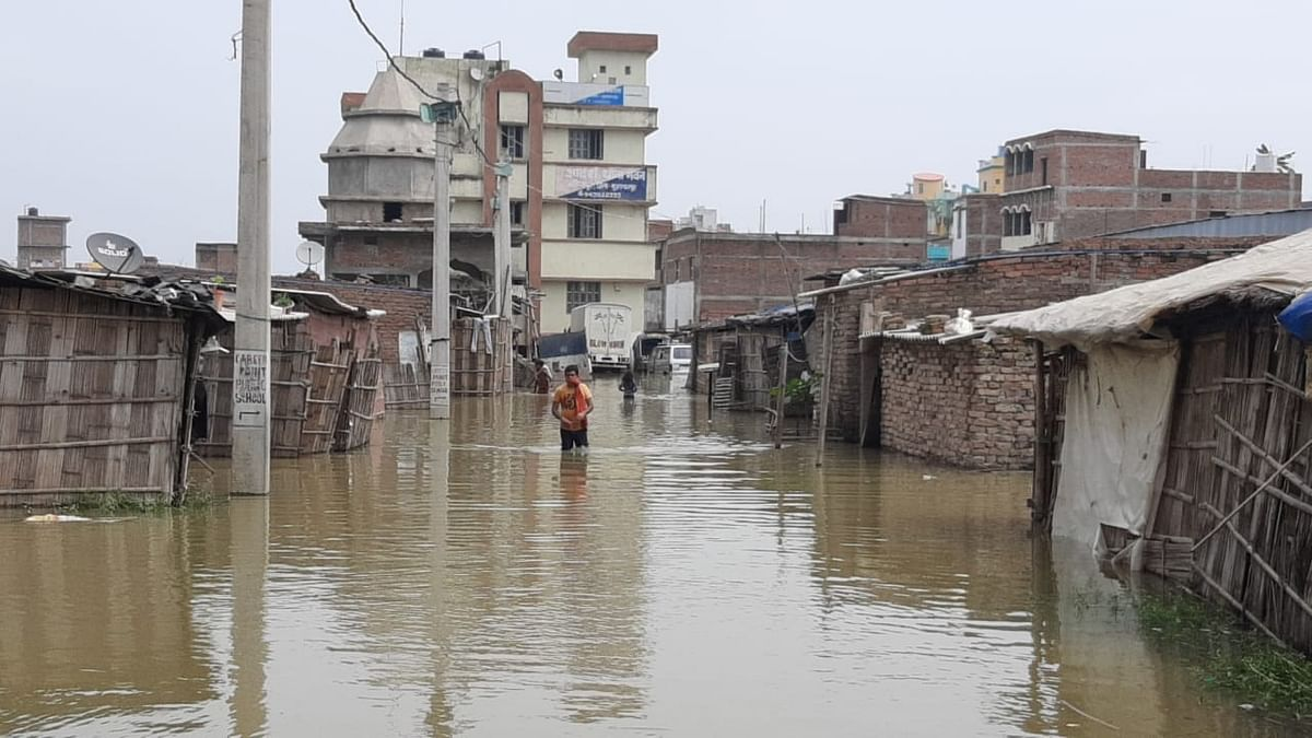 Flood situation worsens in Patna, water enters more localities
