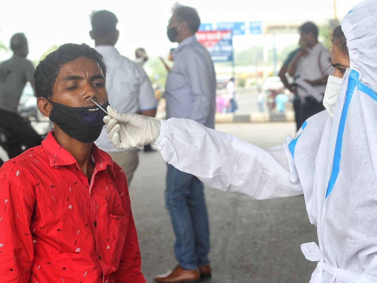 India adds 30,549 coronavirus infections, active cases fall after six days