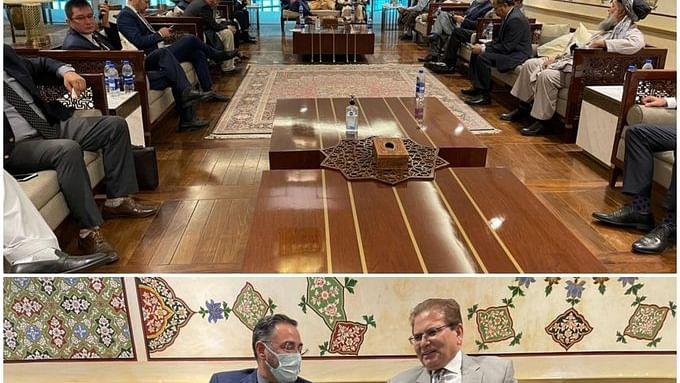 Afghan leaders in Pak