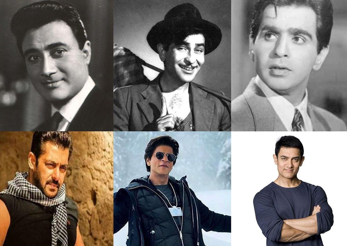 Dilip-Dev-Raj or Salman-Aamir-SRK?