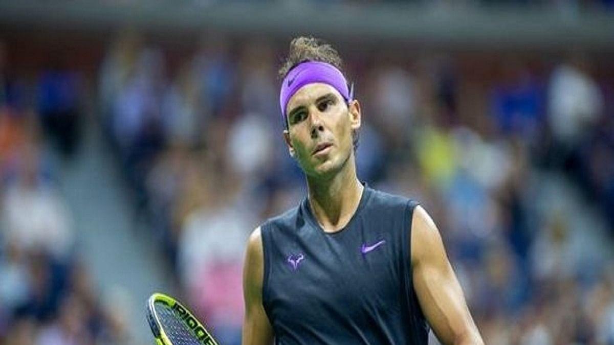 Rafael Nadal (Photo Courtesy: IANS)