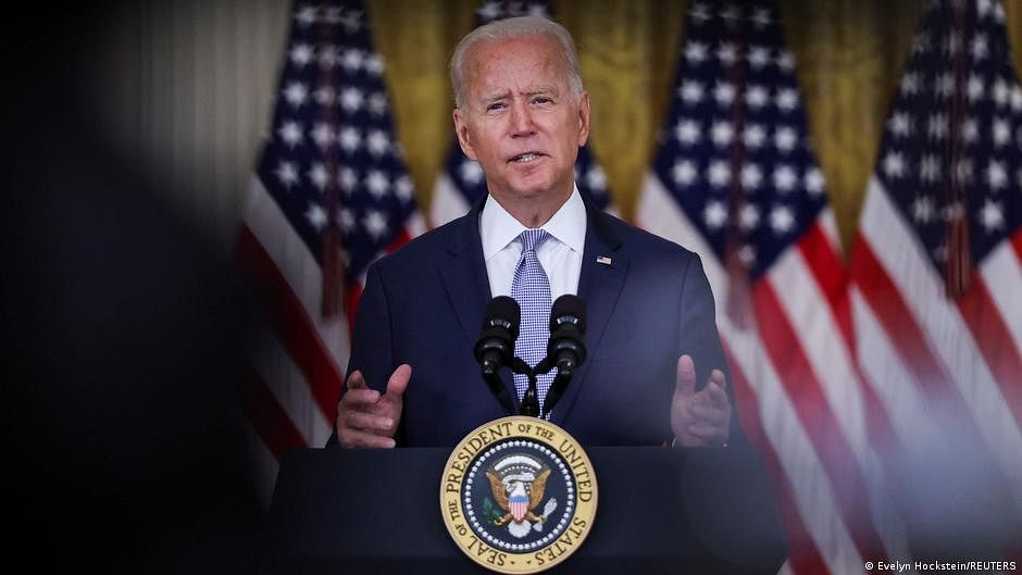 Completion of August 31 deadline for Afghan evacuation mission depends on Taliban cooperation: Biden