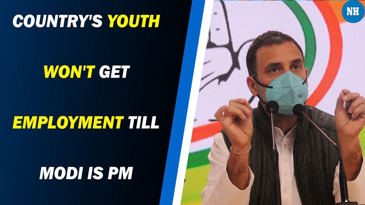 Country's youth won't get employment till Modi is PM: Rahul Gandhi