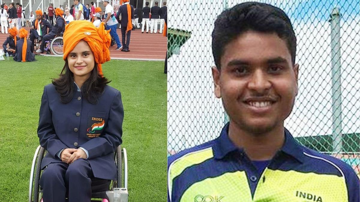 Avani Lekhara and Yogesh Kathuniya