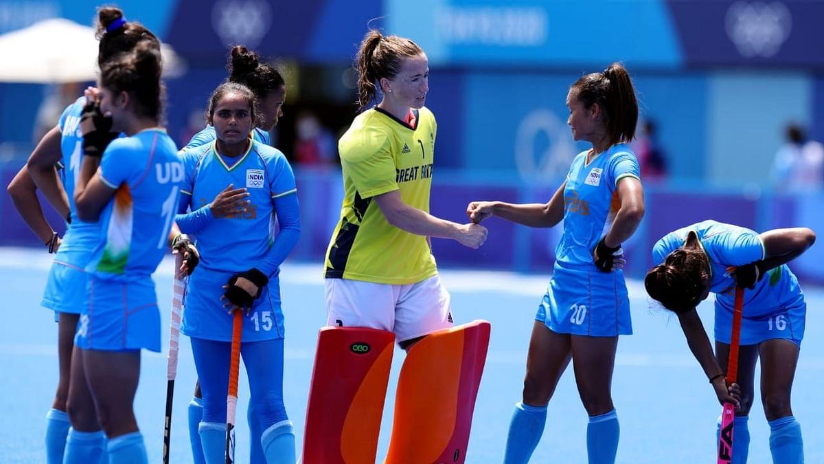 Indian women's hockey team at Olympics 2021