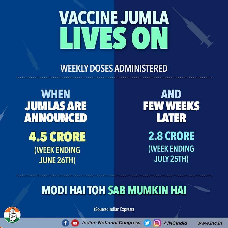 Congress, CPI-M slam Centre over vaccine shortage