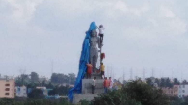 Shocked that orders defied in broad daylight: Karnataka HC on Shiva statue unveiling at Bengaluru island