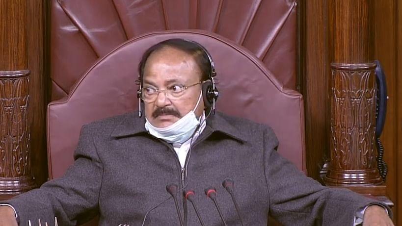 Rajya Sabha Chairman M. Venkaiah Naidu