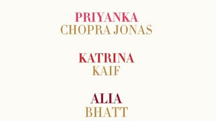 Motion poster out for Farhan Akhtar's 'Jee Le Zaraa' starring PC, Katrina, Alia