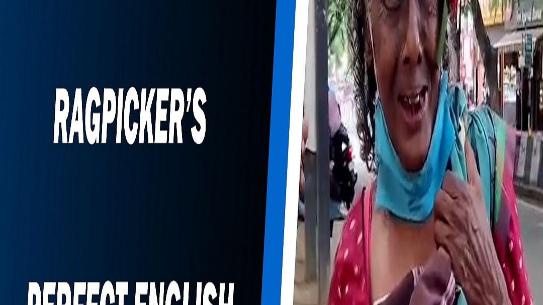 Bengaluru ragpicker's perfect English & soulful voice
