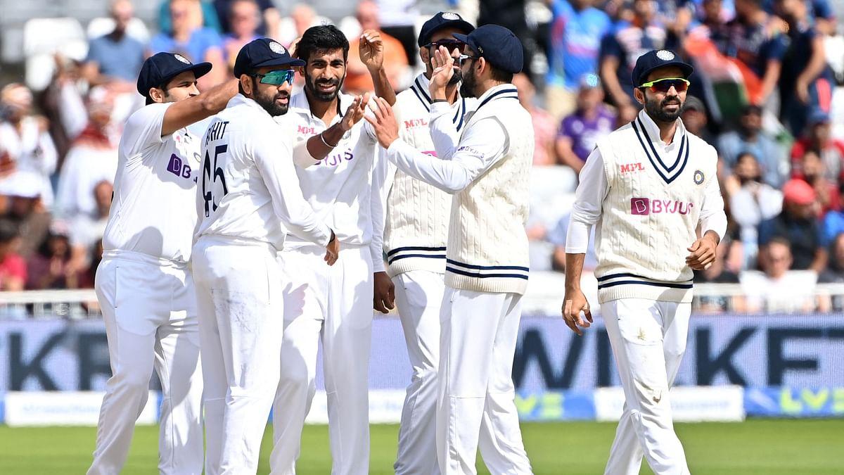 Team India at Trent Bridge