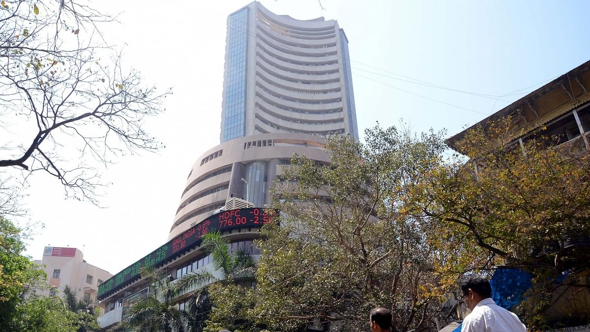 Sensex tops 57,000 for the first time, Nifty nears 17,000