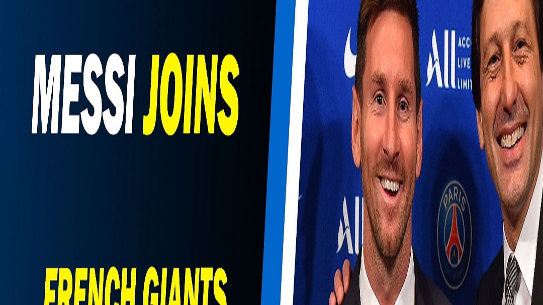Trending news on internet: Lionel Messi joined French club Paris Saint-Germain, Big B & more