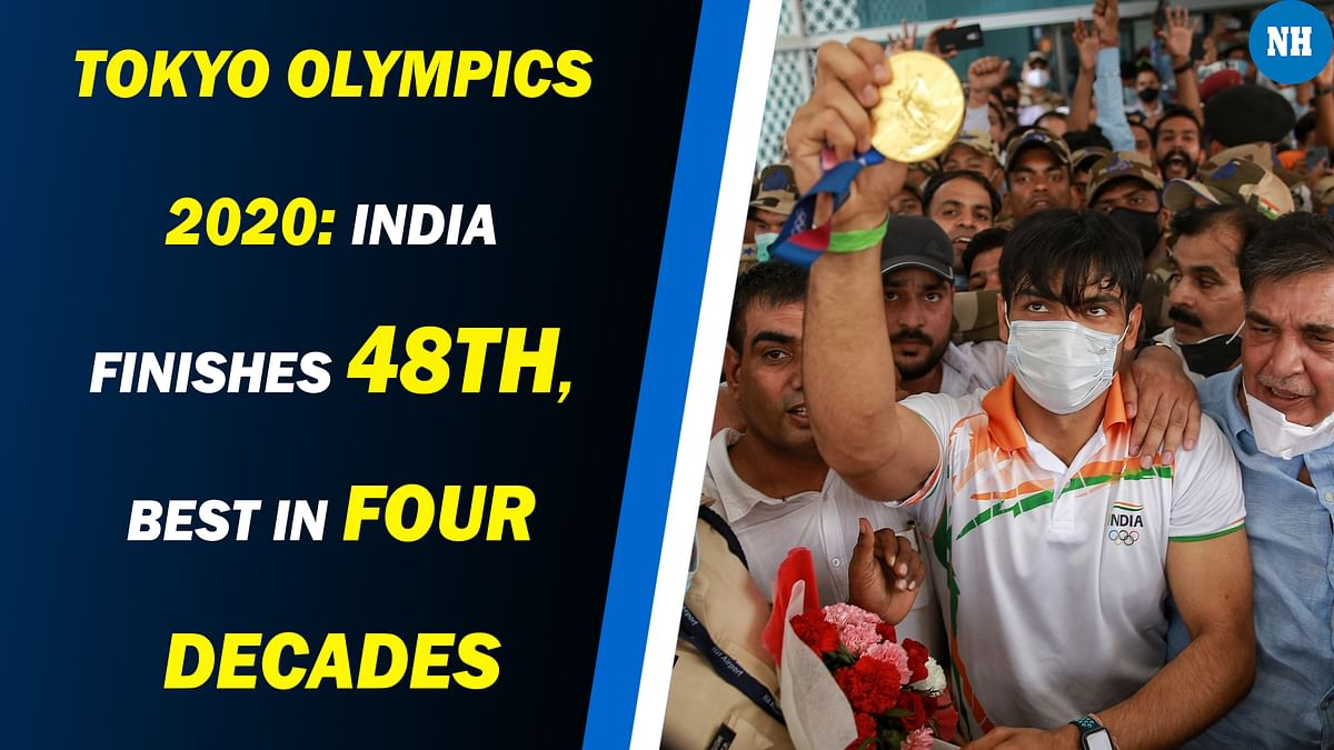 Tokyo Olympics 2020: India finishes 48th, best in four decades