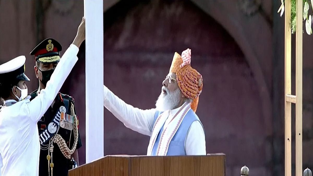 75th I-Day: PM Modi says hand-holding of deprived communities necessary