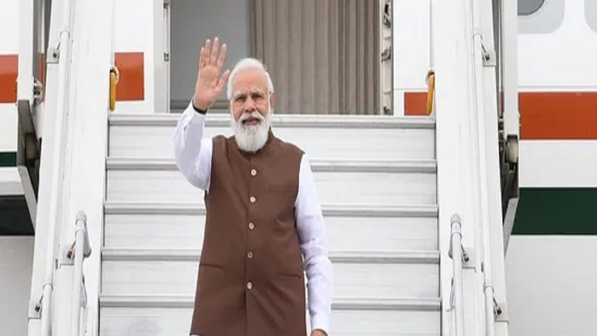 PM leaves for US, says visit occasion to strengthen strategic ties (Photo Courtesy: Twitter/@MEAIndia)