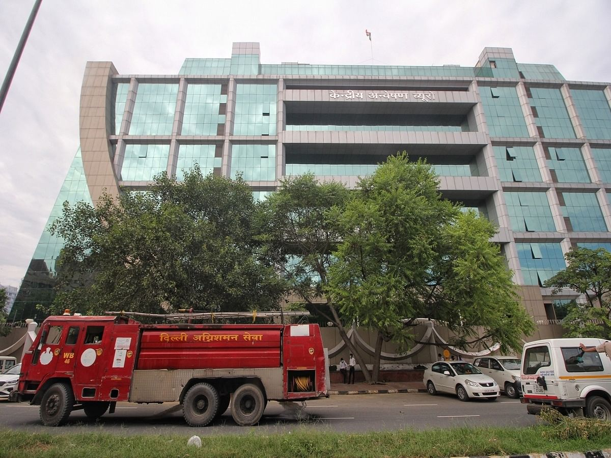 Fire breaks out in basement of CBI building, doused