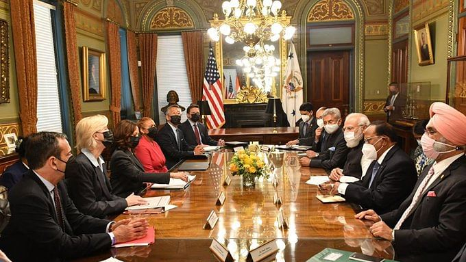 A still from the meeting