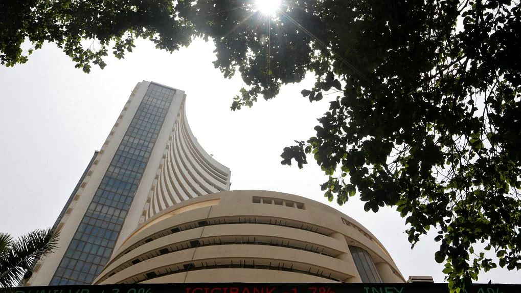 Sensex surges over 200 pts to hit fresh record; Nifty nears 17,200