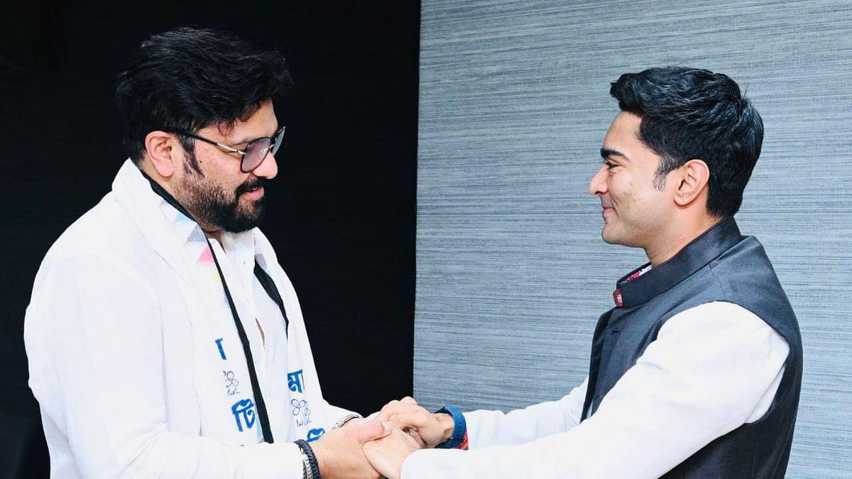 Abhishek Banerjee welcomes Babul Supriyo into TMC