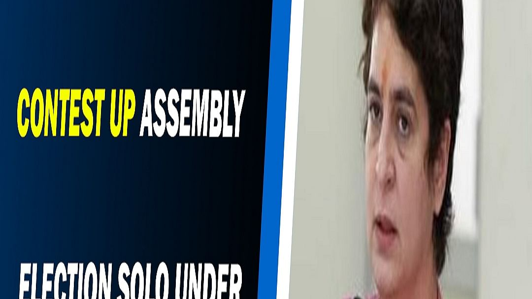Congress to contest UP Assembly election solo under Priyanka Gandhi's leadership