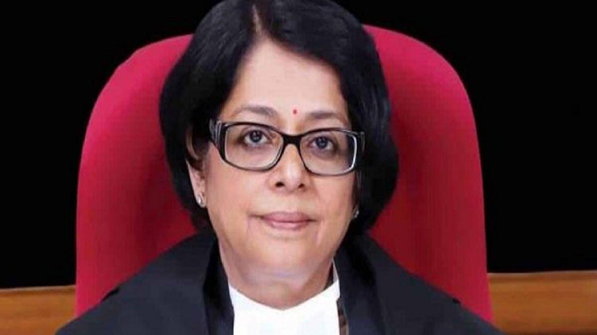 Former Supreme Court judge Indu Malhotra (Photo Courtesy: Social Media)