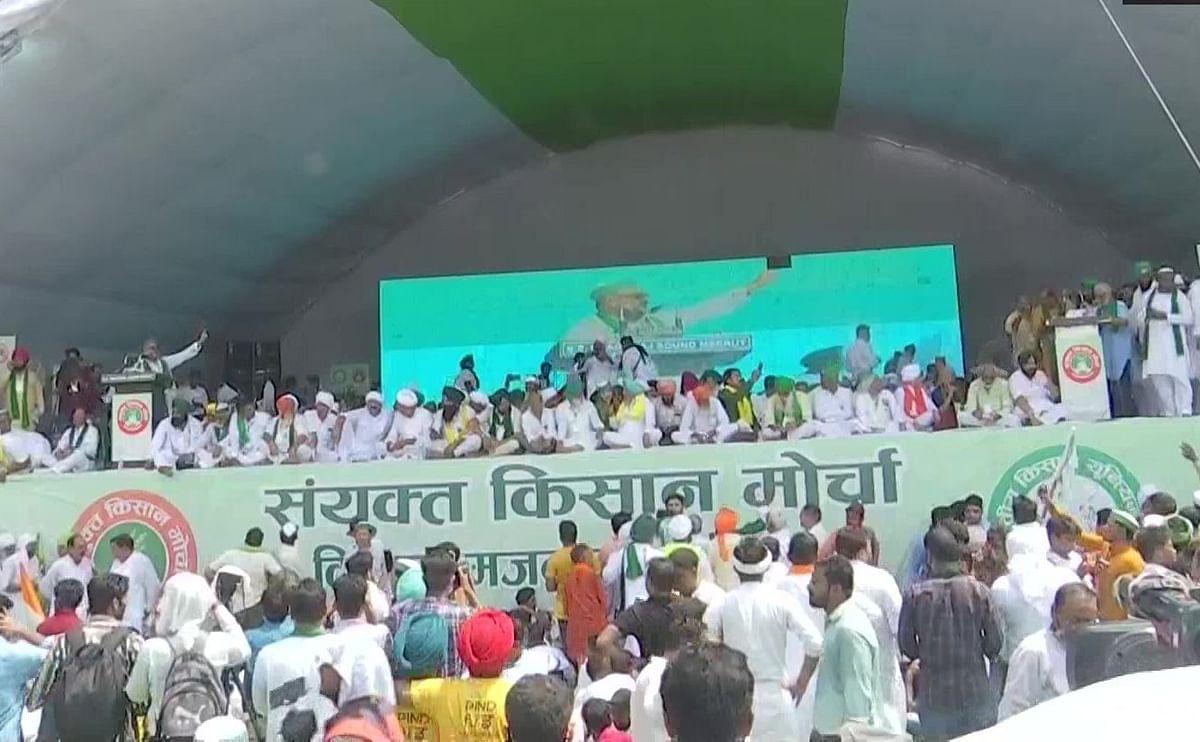 Farmers stir UP poll cauldron, give clarion call to uproot BJP in 2024 as well at Muzaffarnagar Mahapanchayat