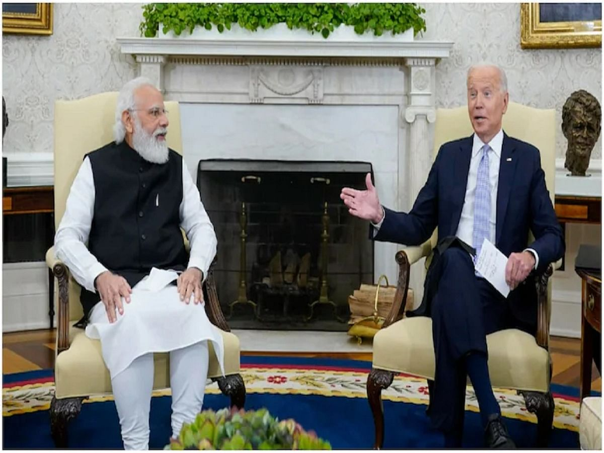 PM Modi with US President Joe Biden