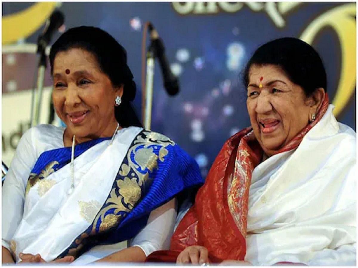 The rivalry is all imagined: Lata Mangeshkar on Asha Bhosle