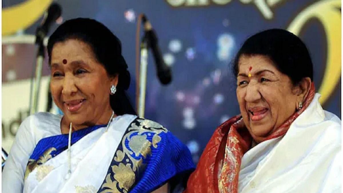 Lata Mangeshkar and Asha Bhosle (Photo Courtesy: Social media)