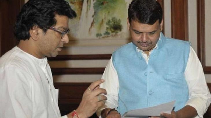 Raj Thackeray and Devendra Fadnavis