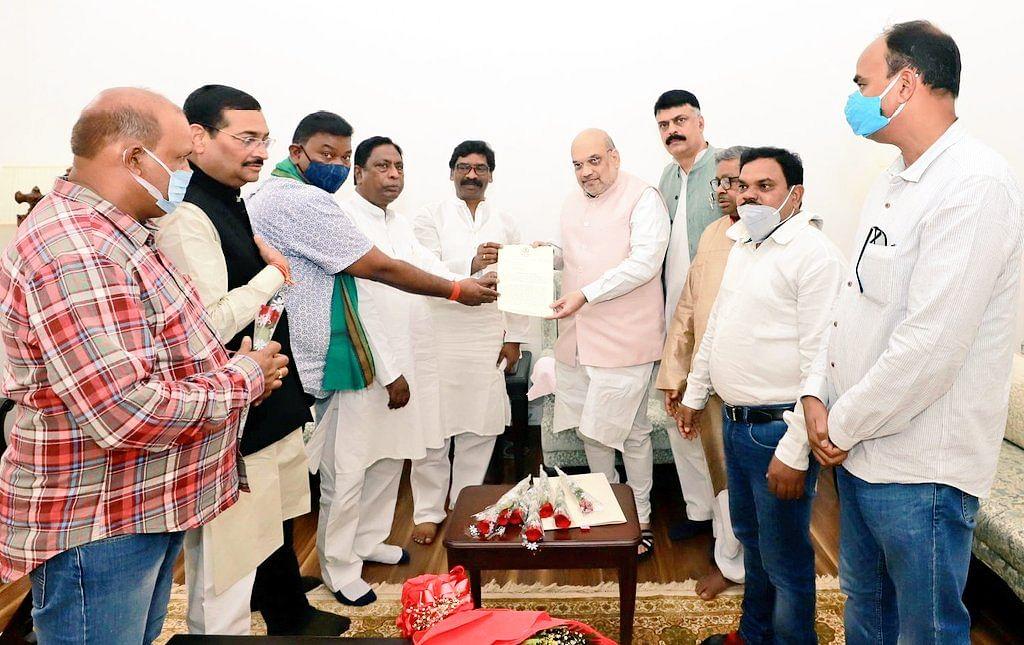 Nitish Kumar reiterates demand for caste census, Jharkhand seconds