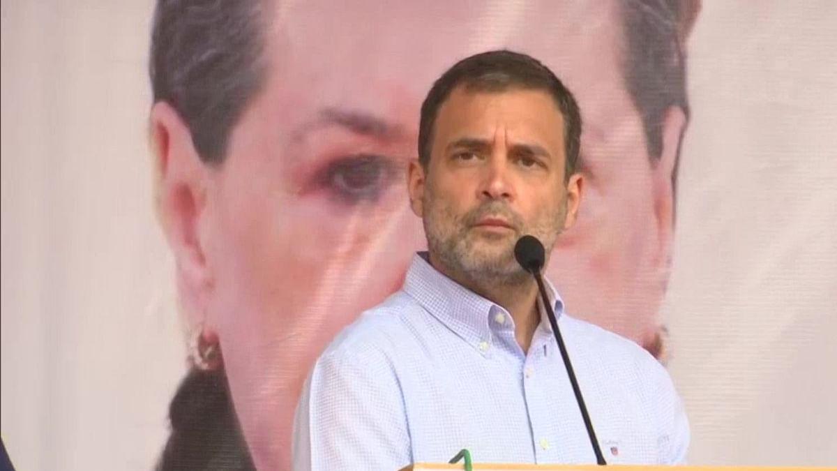 Congress leader Rahul Gandhi (Photo Courtesy: Twitter/@ANI)
