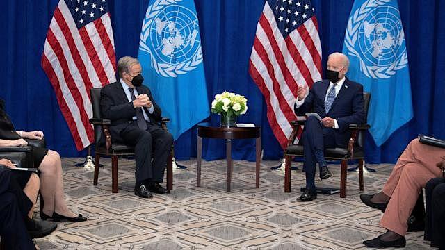 Biden and Guterres